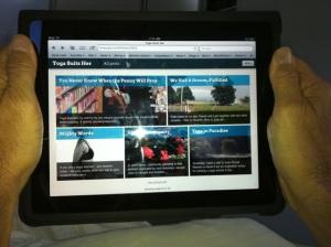 iPad-masana: An Apple A Day